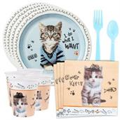 Rachael Hale Cats Rule Standard Tableware Kit (Ser