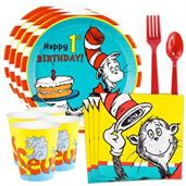 Dr. Seuss 1st Birthday Standard Tableware Kit