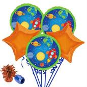 Rocket to Space Balloon Bouquet Kit