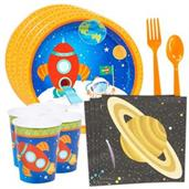Rocket To Space Party Supplies & Decorations