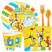 Dr. Seuss Favorites 1st Birthday Standard Tableware