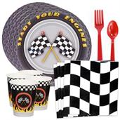 Racecar Racing Party Standard Tableware Kit (Serve
