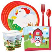Barnyard Standard Tableware Kit (Serves 8)