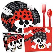 Pirate Birthday Standard Tableware Kit (Serves 8)