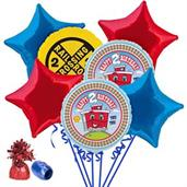 Two-Two Train 2nd Birthday Balloon Bouquet Kit