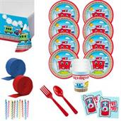 Two-Two Train 2nd Birthday Standard Tableware Kit