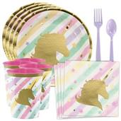 Unicorn Sparkle Standard Tableware Kit With Plasti
