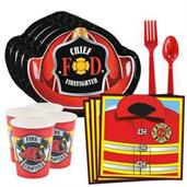 Firefighter Party Party Supplies & Decorations