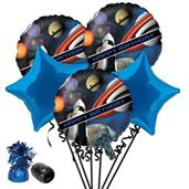 Space Blast Birthday Balloon Bouquet Kit