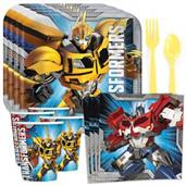 Transformers Party Standard Tableware Kit (Serves