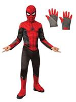 Spiderman Kids Costume Kit - Red & Black
