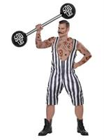 Mens Vintage Circus Strongman Costume