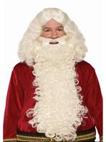 Deluxe Long Santa Wig & Beard Set
