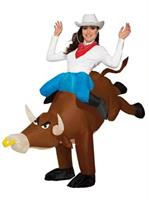 Adult Inflatable Ride-a-Bull Costume