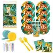 The Lion King Deluxe Tableware Kit (Serves 8) (U)