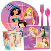 Disney Princess Dream Big Tableware Kit (Serves 8)