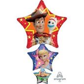 "Toy Story 4 42"" Jumbo Shaped Foil Balloon"