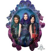 "Descendants 3 Jumbo 31"" Shaped Foil Balloon"