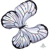 "Iridescent Butterfly 30"" Jumbo Shaped Balloon"