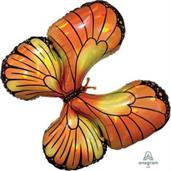 "Monarch Butterfly 30"" Jumbo Shaped Balloon"