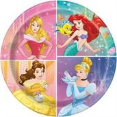 "Disney Princess Dream Big 9"" Lunch Plates (8)"