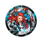 Black Widow Plates