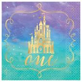 Once Upon A Time 1st Birthday Beverage Napkins (16