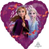 Frozen 2 Love Foil Balloon