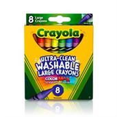Crayola 8ct. Large Ultra-Clean Washable Crayons