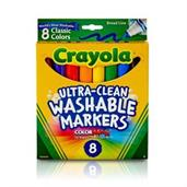 Crayola 8ct. Ultra-Clean Washable Markers, Classic