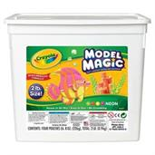 Crayola 2lbs Bucket Model Magic, Neon