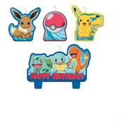 Pokemon Classic Birthday Candle Set