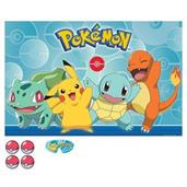Pokemon Classic Party Game Poster Birthday Party Supplies