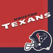 Designware Houston Texans Nfl Luncheon Napkins