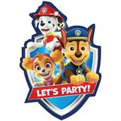 Paw Patrol Adventures Postcard Invitations (8)