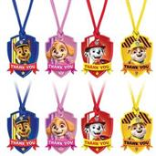 Paw Patrol Adventures Thank You Tags (8)