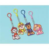 Paw Patrol Adventures Puffy Vinyl Keychain Favors
