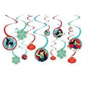 Mulan Hanging Spiral Decorations