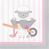 Sweet Farmhouse Birthday Lunch Napkins (16)