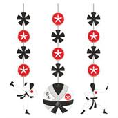 Karate Hanging Decorations