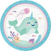 Happy Narwhal Plates