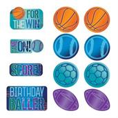Birthday Baller Cutout Decorations