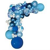 Blue Ombre Balloon Garland Kit
