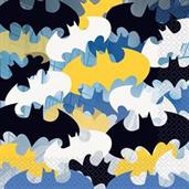 Batman Lunch Napkins(16 Pack)