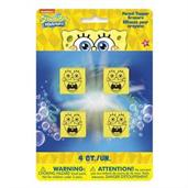 SpongeBob Squarepants Pencil Topper Eraser (4 Pack