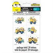 24 Minions 2 Tattoos(4 Sheets of 6)