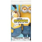 Minions 2 Plastic Table Cover (54X84)