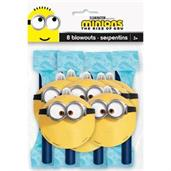 Minions 2 Blowouts(8 Pack)