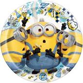 Minions 2 9 inch Plates(8 Pack)