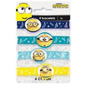 Minions 2 Stretch Bracelets (4 Pack)